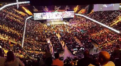 Curso eventos deportivos y espectáculos
